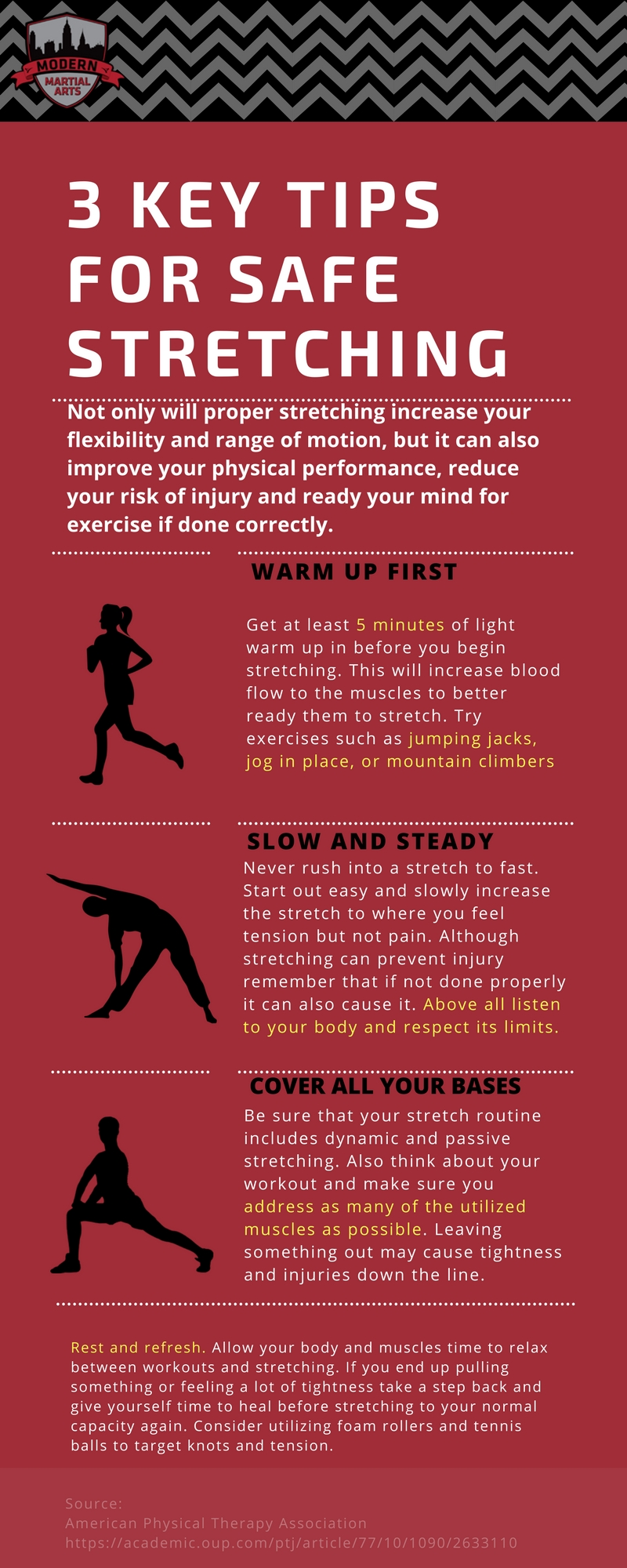 3 Key Tips from our Stretching Guide